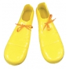 Clown Shoe 16In Plastic Yellow